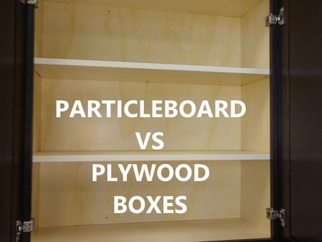 Particleboard Cabinets vs Plywood Cabinets