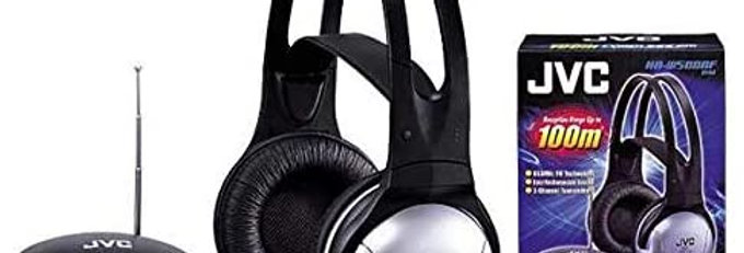 JVC Cordless FM Stereo Headphones