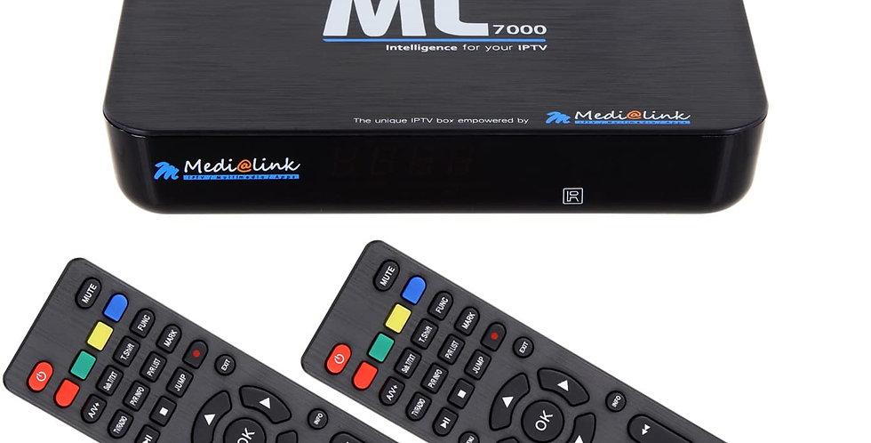 Medialink ML7000 IPTV Smart Home H.265 Receiver + IPTV Stalker Xtreame VLC Media