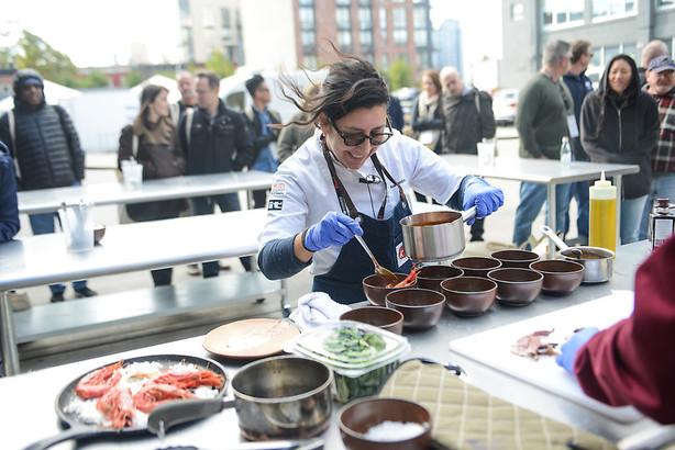 International Chef's Congress Pictured: Alex Raij Location: Brooklyn, NY Photo: Alexa Bendek