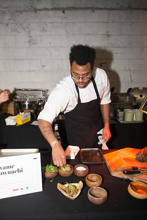 Rising Star Chef Gala Pictured: Kwame Onwuachi Location: Washington, D.C. Photo: Alexa Bendek