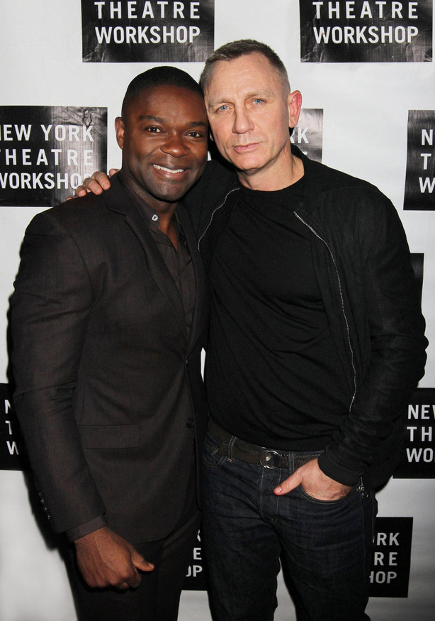 Othello Opening Night Party Pictured: David Oyelowo & Daniel Craig Location: New York, NY Photo: Henry McGee