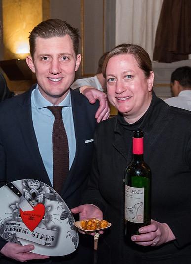 Rising Star Chef Gala Pictured: Sean Feeney & Missy Robbins Location: New York, NY Photo: Jaclyn Warren