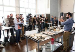 International Chef's Congress Pictured: Jeremy Umanski Location: Brooklyn, NY Photo: Alexa Bendek