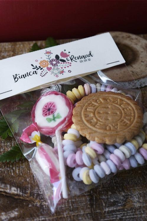 Cadeau gourmand pour les petits invités - Mariage - Cadeau enfant- commande min