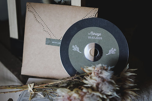 La Bo de votre mariage ( 10 titres ) CD + Pochette - commande min 15