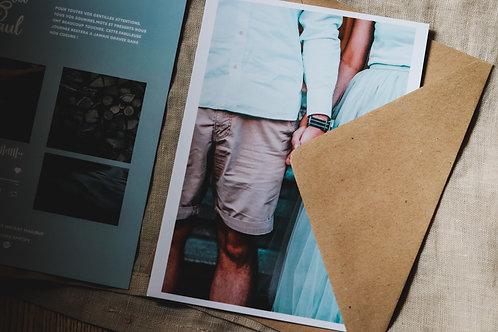 Nouveau : Nos cartes de remerciements interactive + une enveloppe
