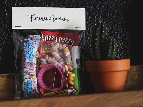 Cadeau gourmand pour les petits invités - Mariage - Cadeau retro - commande min