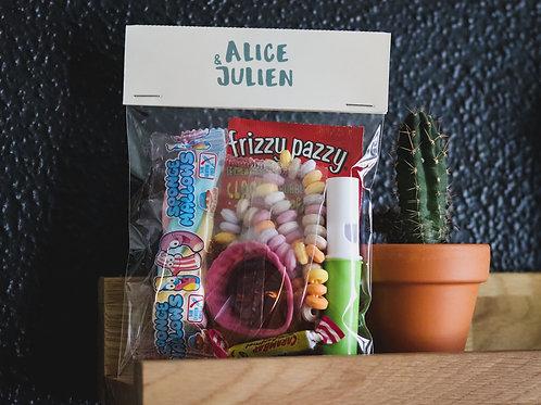 Cadeau gourmand pour les petits invités - Mariage - Cadeau retro - minimum 20