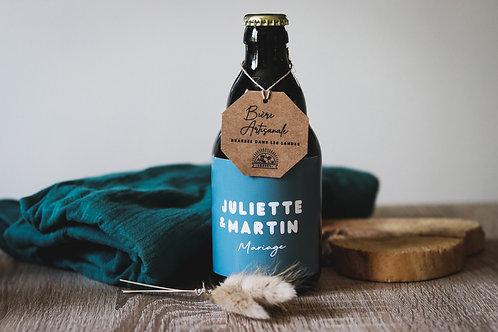 Nouveau ! Cadeaux invités : Bière artisanale des Landes - Commande min 25