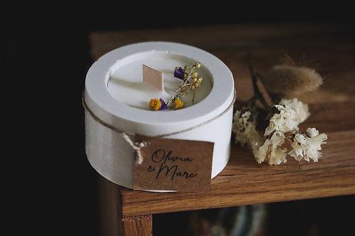 Nouveau : Bougie parfumée La Fabrique des jolis mots + étiquette personnalisée a