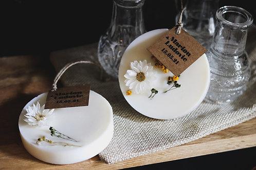 Nouveau - Cadeaux invités - Palet botanique parfumé - commande minimum 30