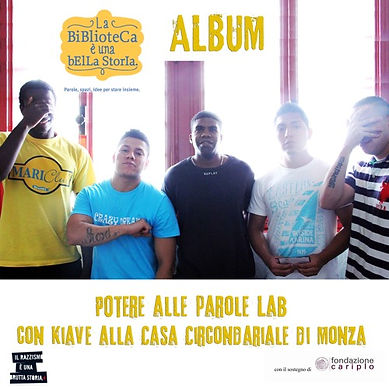 Potere all Parole Album Casa circonariale di Monza