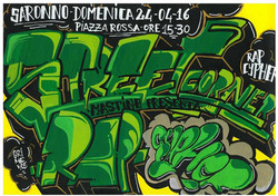 Workshop Street Corner Rap Cypher