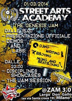 Evento The Genesis Jam