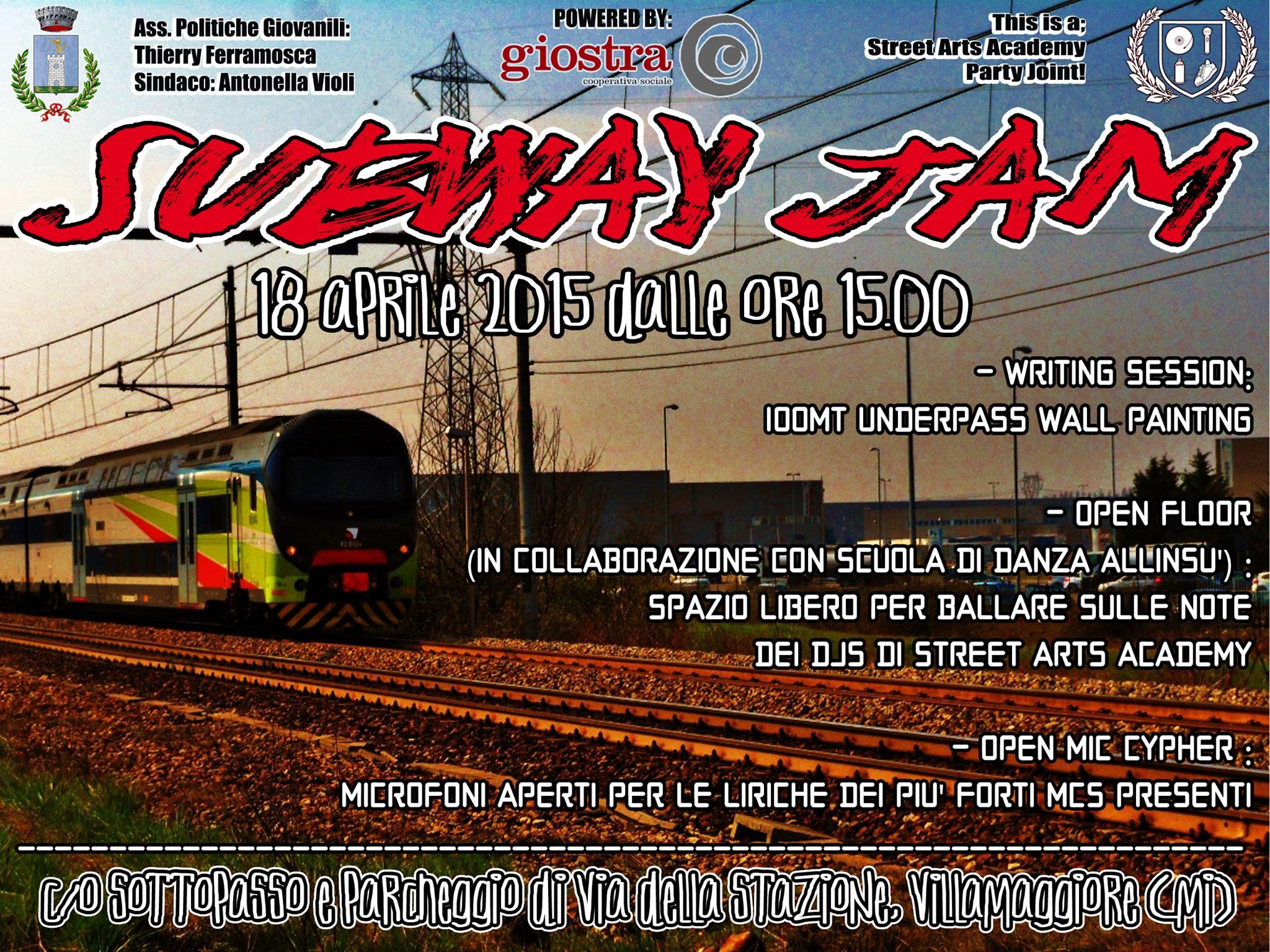 Evento The Subway Jam