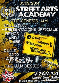 La locandina di The Genesis Jam