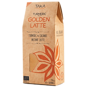 Taka Turmeric Organic Golden Latte Side.