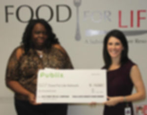 Check presentation from Publix