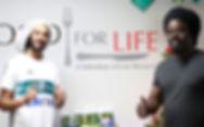 Julian Marley visiting Food For Life