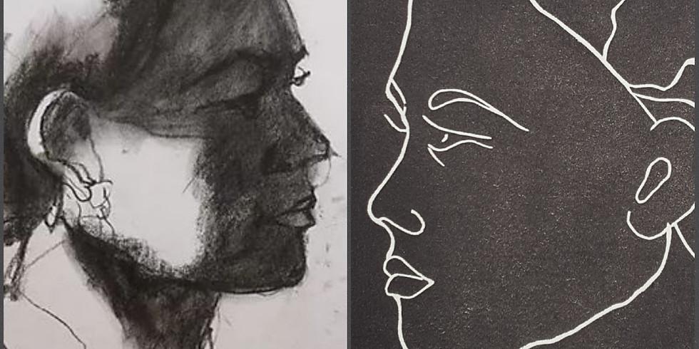 Stage Duo: Portrait et Estampe (2)
