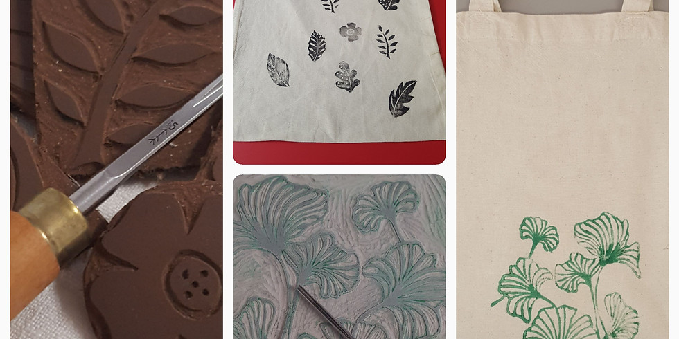 Atelier Linogravure, réalisez un tote bag imprimé avec votre création en gravure