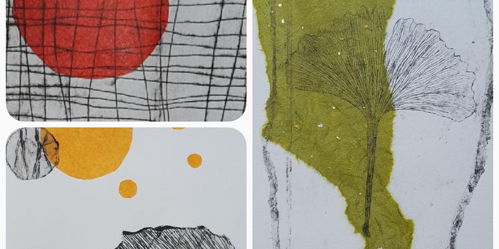 Atelier Gravure, imprimez une estampe  à partir de votre création en gravure  (1)