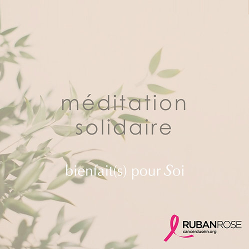 Méditation Solidaire