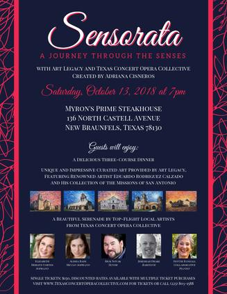 Sensorata: A Feast of the Senses - October 13