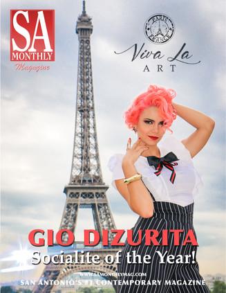 Gio DiZurita - Our New Socialite of the Year!