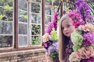 Cadence - A five year old with a passion for fashion!