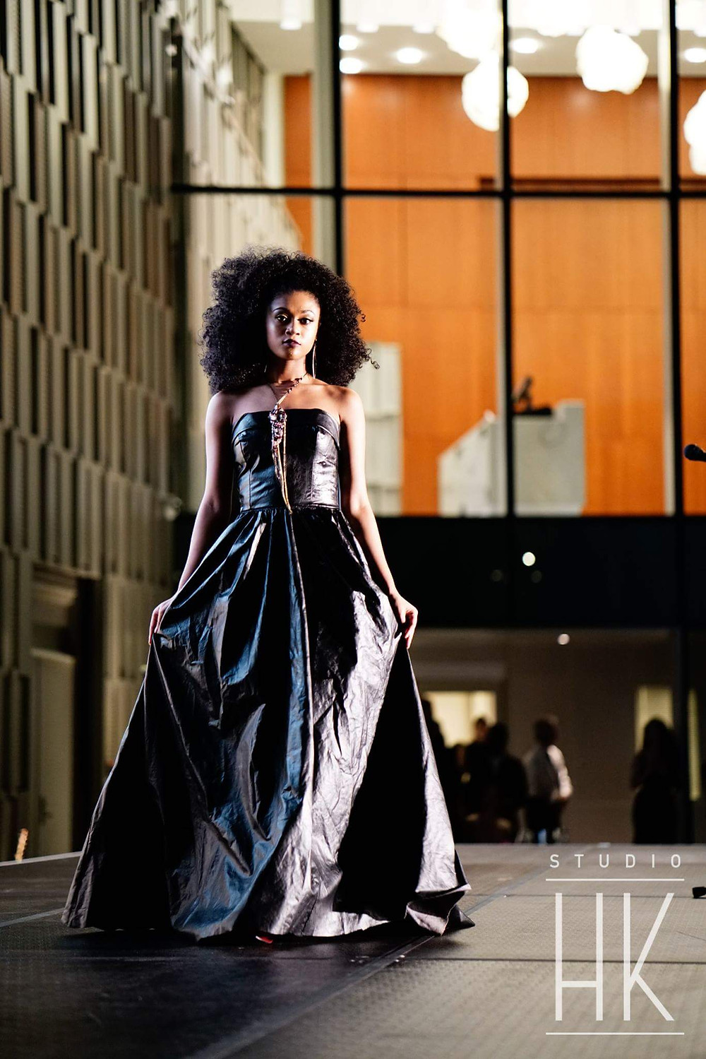 The Lanier collection was featured by breakout designer Daiquonne Lanier