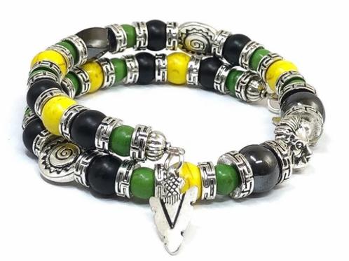 Men's Arrow Charm Bracelet