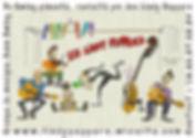 carte visite lindy peppers - dessins Ale