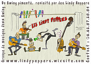 Carte Visite Lindy Peppers
