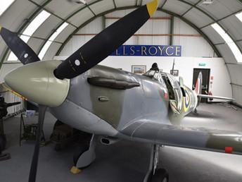 Letecké muzeum ve skotském Dumfries připomíná příběhy válečných letců
