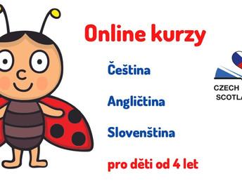 Online kurzy pro děti od září 2021