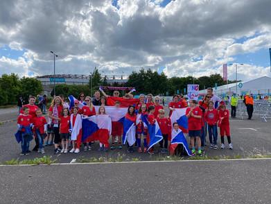 Česká škola ve Skotsku fandila našemu týmu na fotbalovém EURU 2020