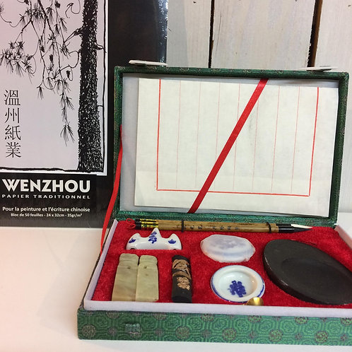 Coffret calligraphie Chinoise