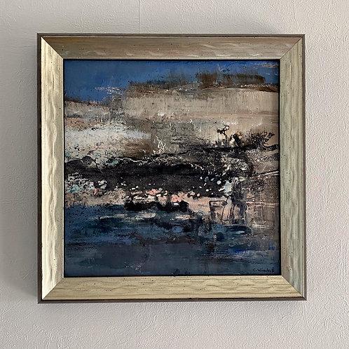 Tableau  20x20cm Cécile Windeck -