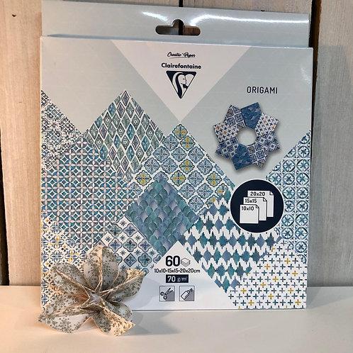 Pochette Origami geometric