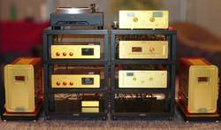 Meuble réalisé pour les instruments