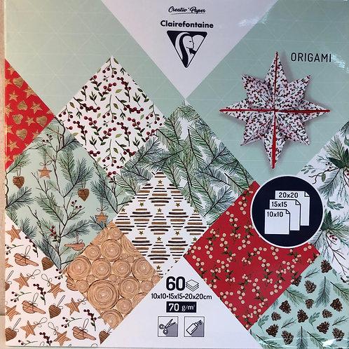 Pochette Origami Etoile