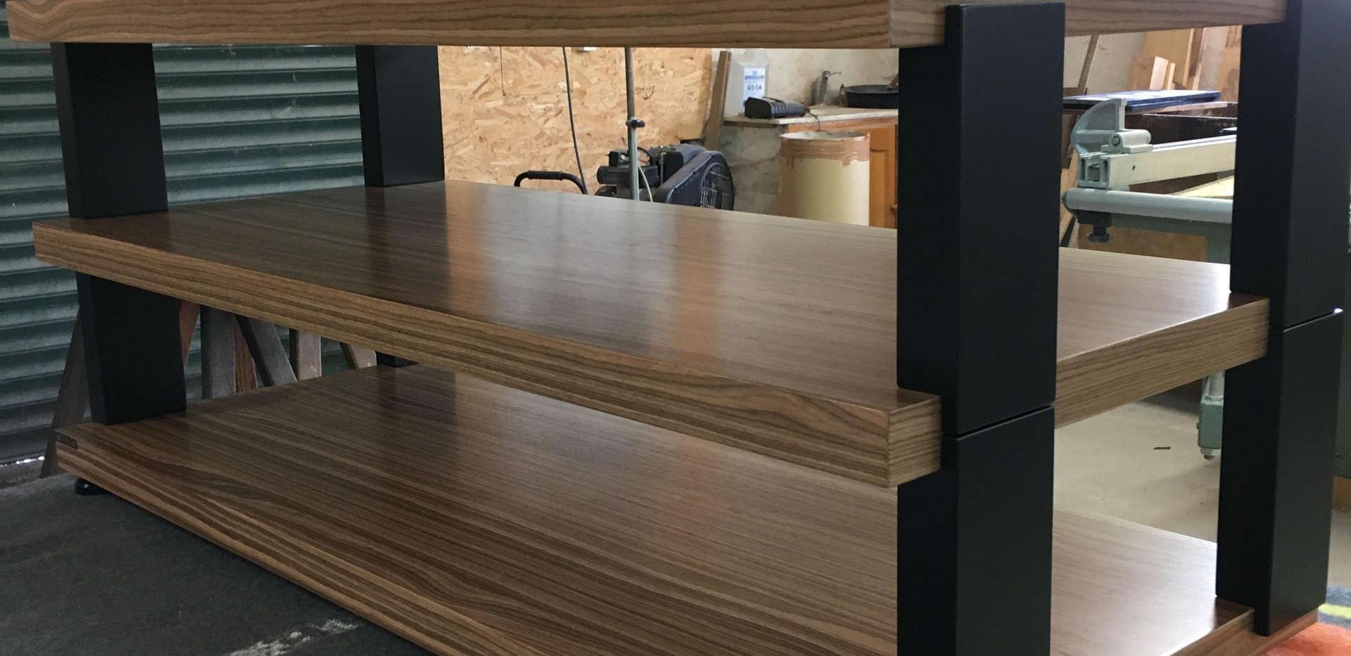 Meubles hifi modulables woodlink