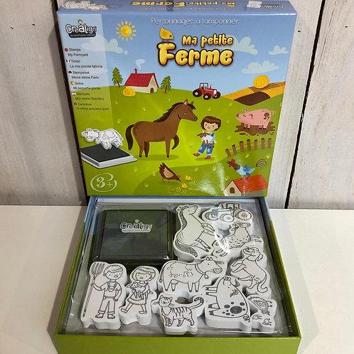 Kit créatif Tampons pour enfants Crealign'