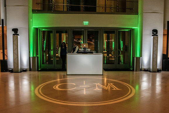 Custom Light Monogram GOBO