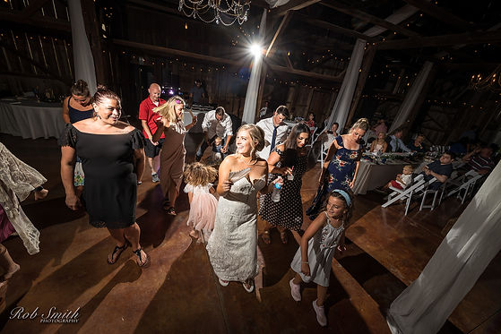 Wedding - Group Dance - Rob Smith Photog