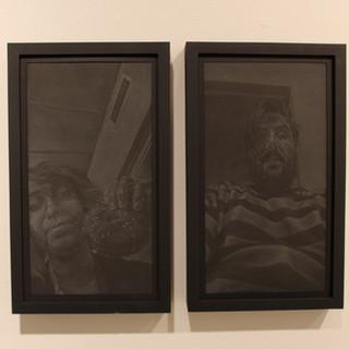 Gallery installation 3 (Diptych view)