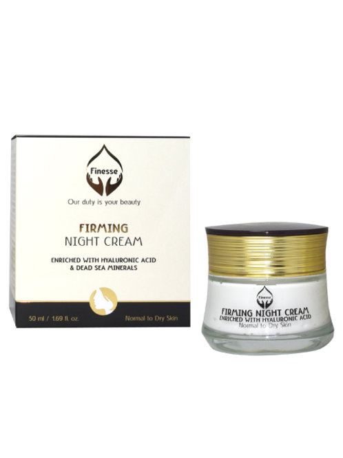 DEAD SEA FIRMING NIGHT CREAM – ENRICHED WITH HYALURONIC ACID