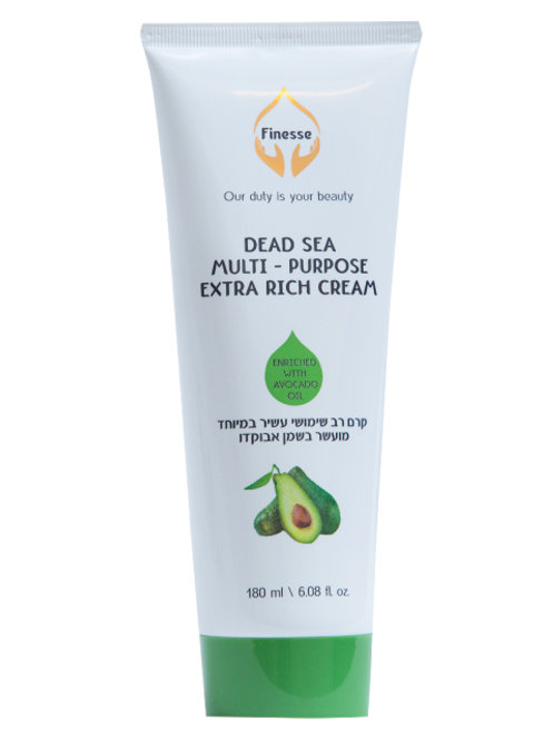 DEAD SEA MULTI - PURPOSE EXTRA RICH CREAM - ENRICHED WITH AVOCADO OIL